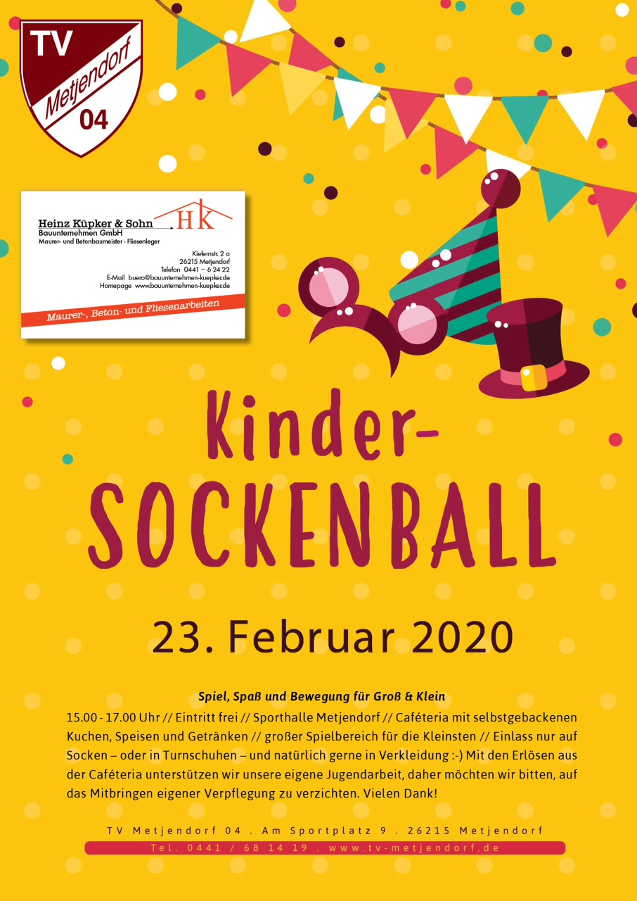 Kinder-Sockenball